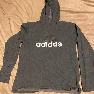 adidas Shirts - Long sleeve hooded tee
